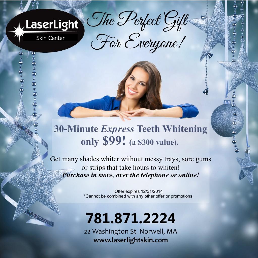 2014 Holiday Teeth Whitening promo