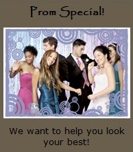 prom and graduation specials